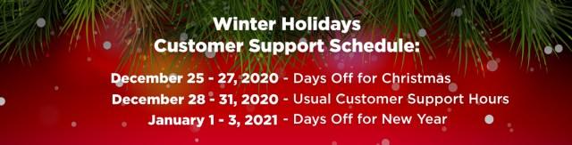 Jadwal Dukungan Pelanggan tagDiv