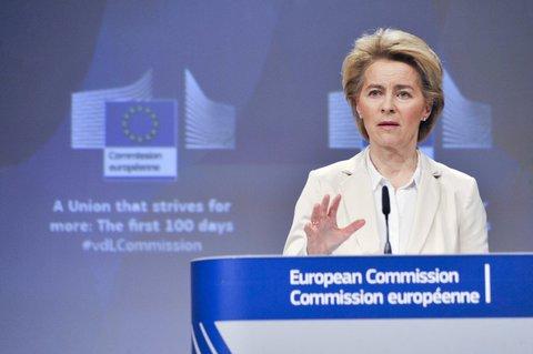 Much to do: Ursula von der Leyen, EU Commission chief, wants to secure jobs.