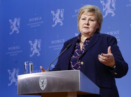 More than a gesture: Norway's Prime Minister Erna Solberg has announced that the first restrictions in the context of the coronavirus pandemic will be reversed.
