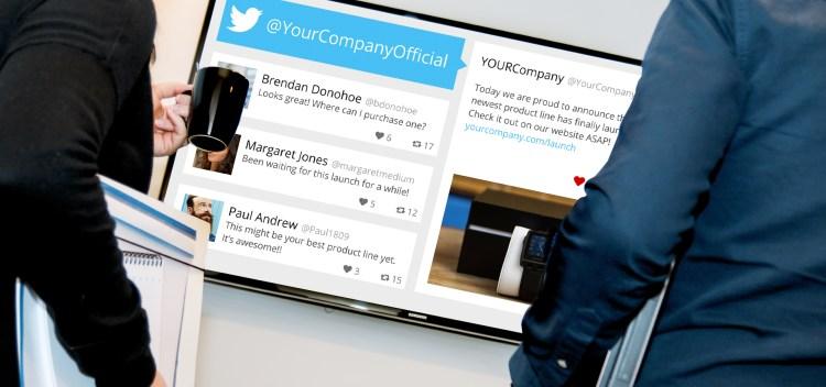 Display Tweet Wall