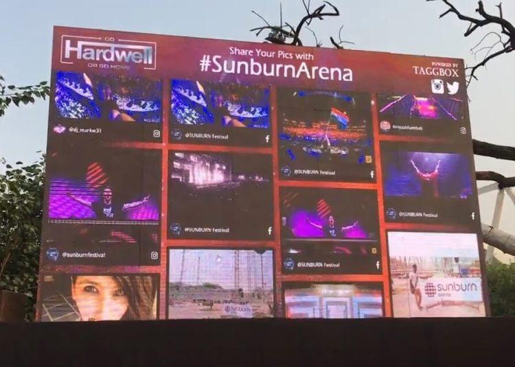 Sunburn Socialwall