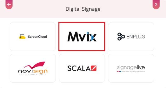 digital signage Mvix
