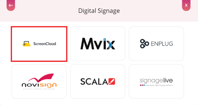 digital sihnage screencloud