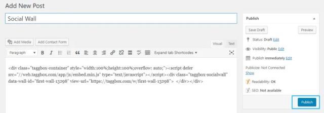 Yelp on WordPress