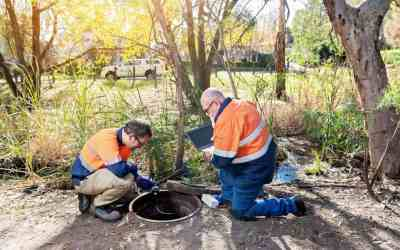 SA Water's sewer smart tech success