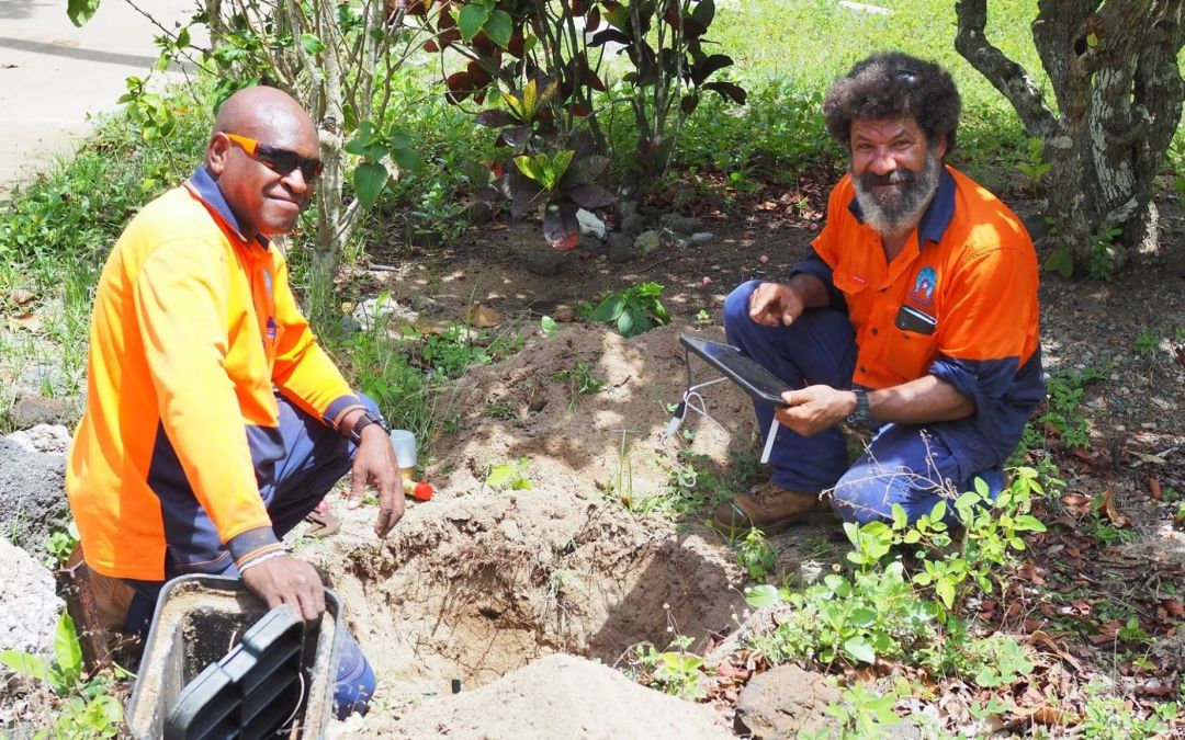 Digital water meters are being installed in the top end
