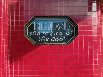 Birdland neon