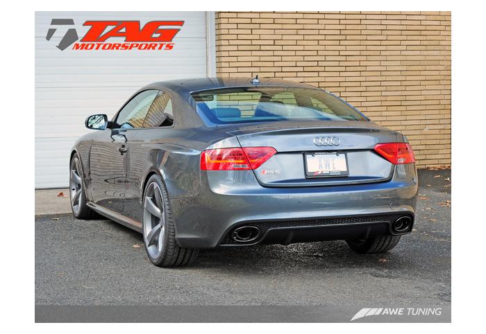 awe tuning rs5 exhaust systems