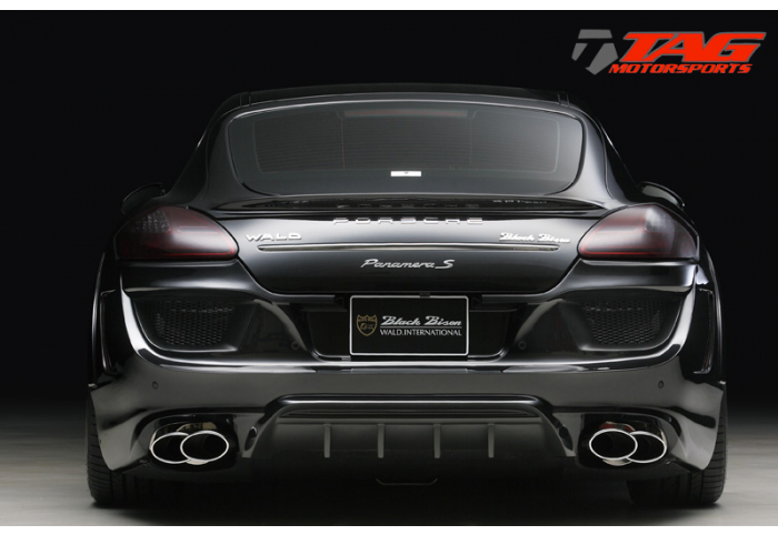 wald porsche 970 panamera universal exhaust tips stainless steel requires modification based on engine model