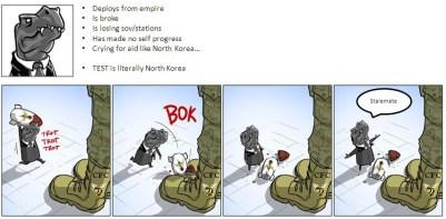 Literally North Korea