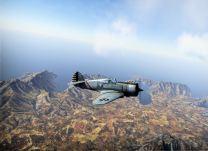 The P-36 in filght
