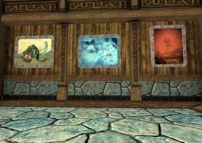 Artwork in a Halas apartment