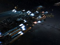 Tengu fleet undocking