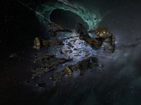 The titans dwarf the other ships