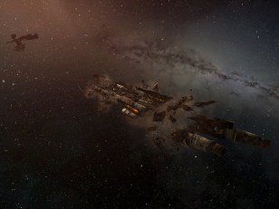 Archon Wreck with Asher Elias flying past