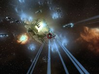 Ferox fleet jumping on contact