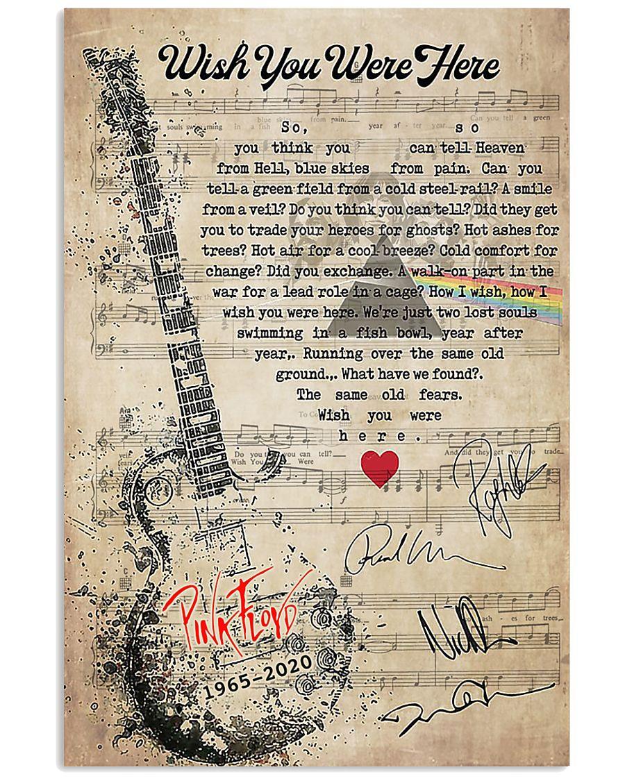 Lirik Wish You Were Here Pink Floyd : lirik, floyd, Floyd, Lyrics, Poster, Tagotee