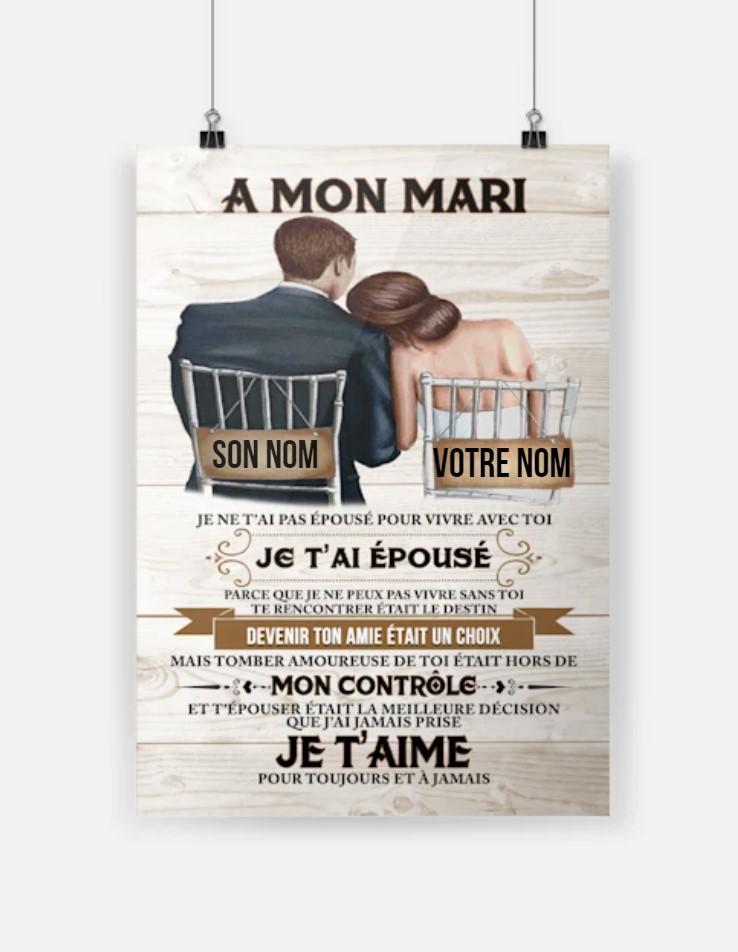 Je Ne Les Aient Pas : aient, épousé, Vivre, Devenir, était, Choix, Poster, Tagotee