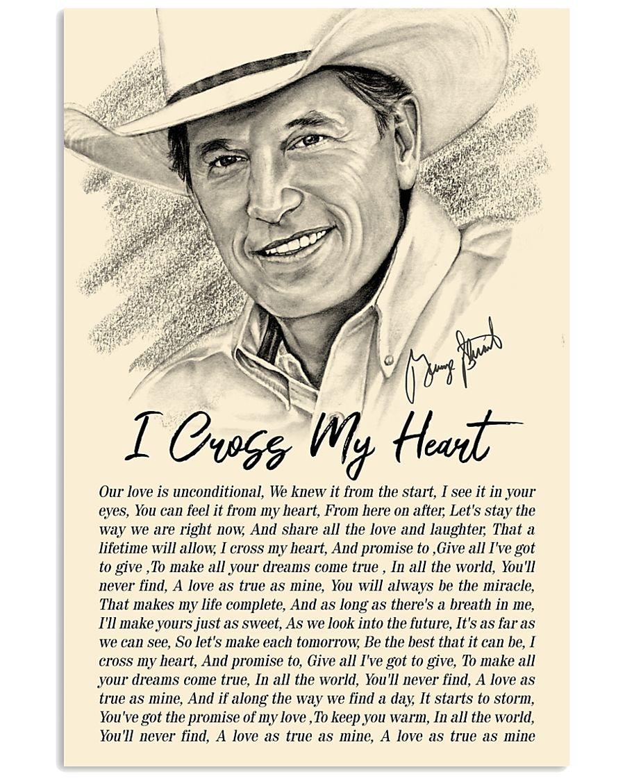 i cross my heart lyrics george strait poster