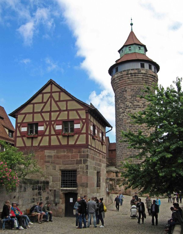 Nuremberg Germany Battling Bishop