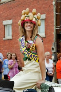 What's a parade without a Potato Queen?