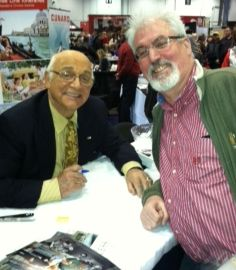 GOOBER SAYS AHOY-Two-time TAGS guest star Gavin MacLeod (port) is making waves promoting his new memoir titled