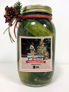 KEROSENE SCENE SEEN BY MANY--Prize-winning Pickles for CBS!