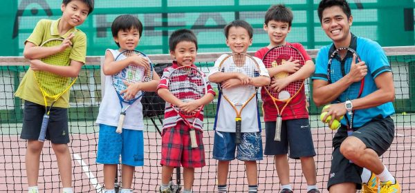 TAG International Tennis Academy Junior Pee Wee tennis program for children age 3 to 4 years old