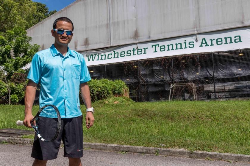 Tennis Coach Bobby