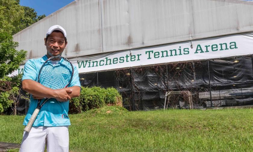 Tennis Coach Rocky