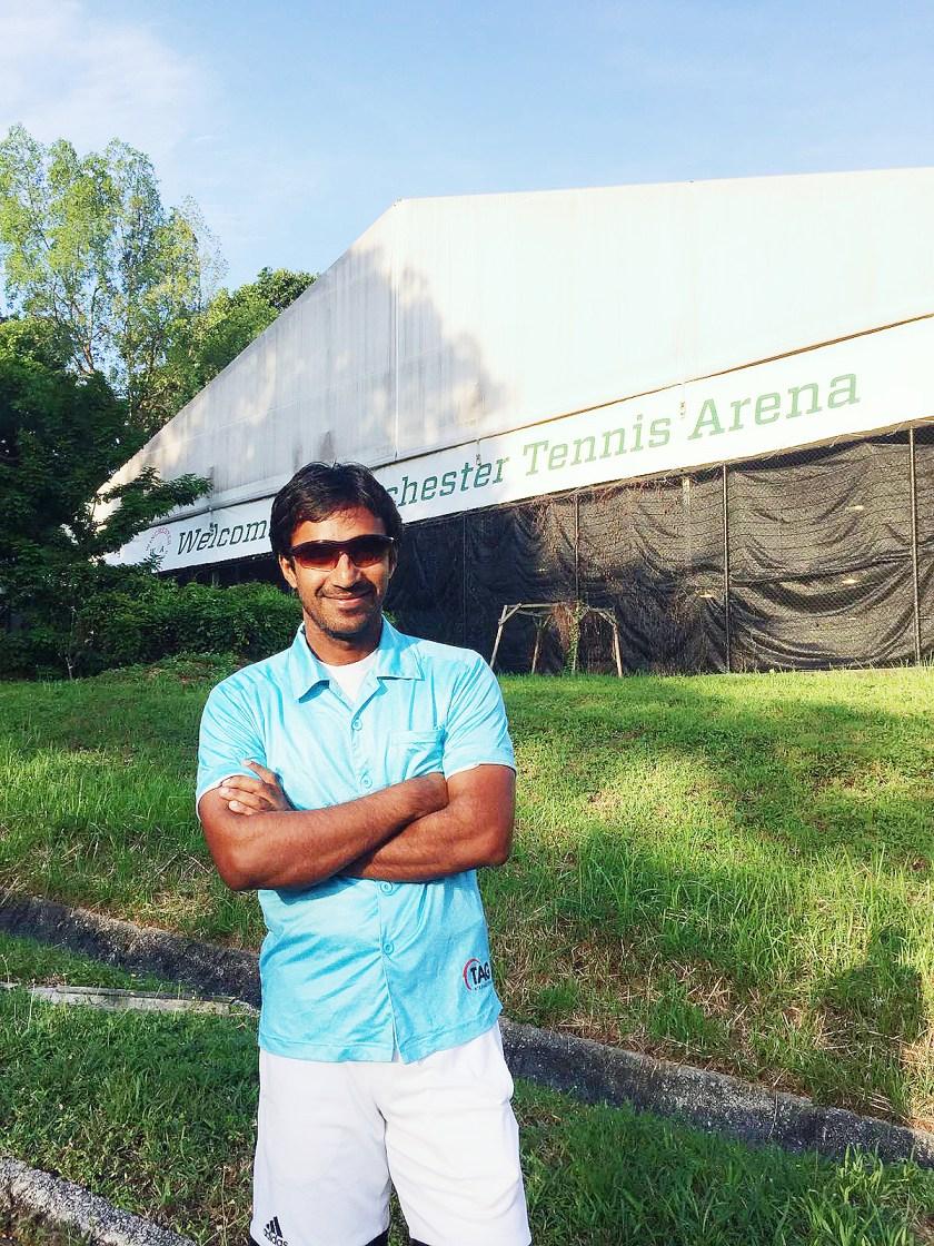 Tennis Coach Pratim