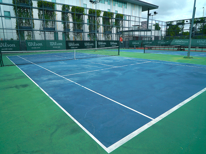 ActiveSG Pasir Ris Tennis Centre - Public Courts in Singapore for your tennis game or your private tennis lessons with professional tennis coaches in Singapore from TAG International Tennis Academy