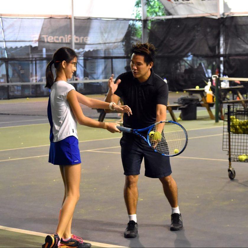 Junior Tennis Player Dyanne
