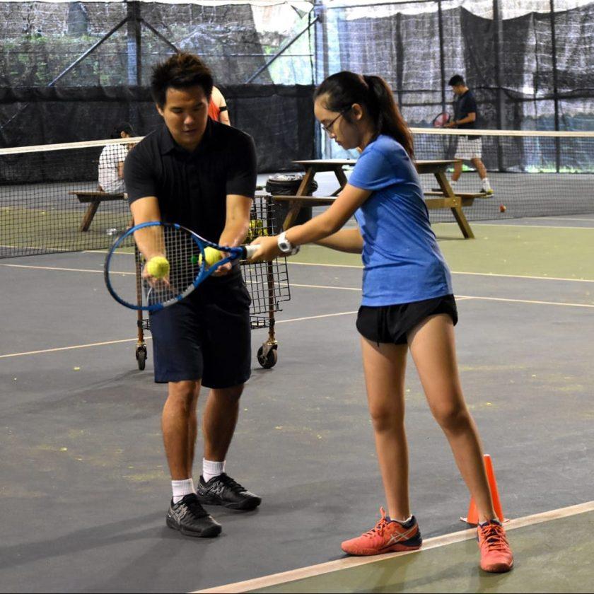Junior Tennis Players Kiera Poh
