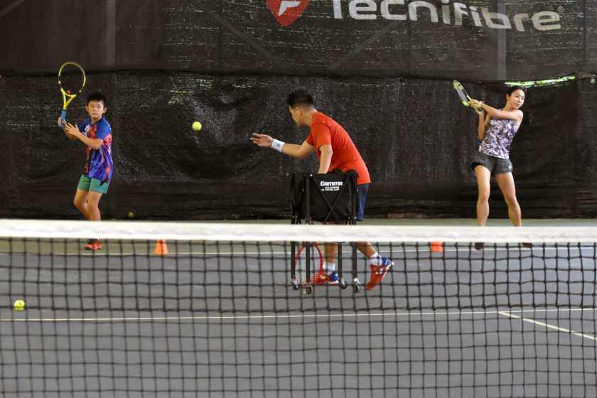 Singapore Junior Tennis Player Chong Xin Yi