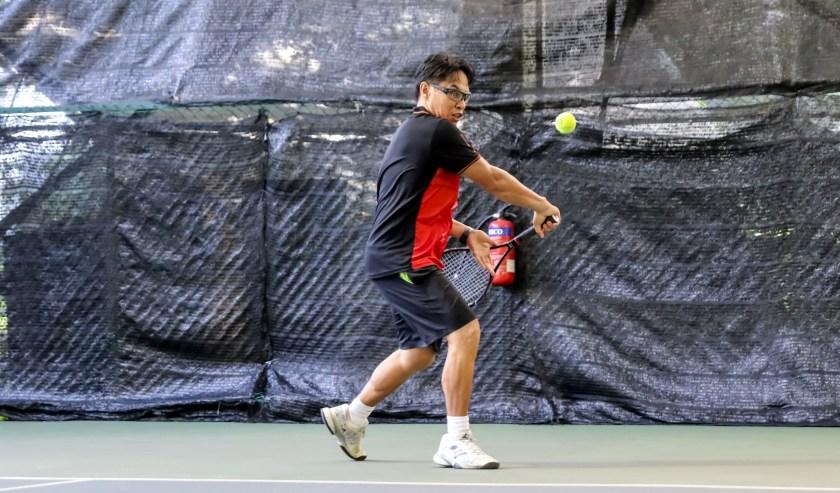 TAG Coach Bo Alburo racquet lag on the backhand