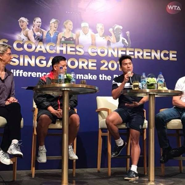 Coach XT as a Keynote Speaker at the WTA Coaches Conference 2017