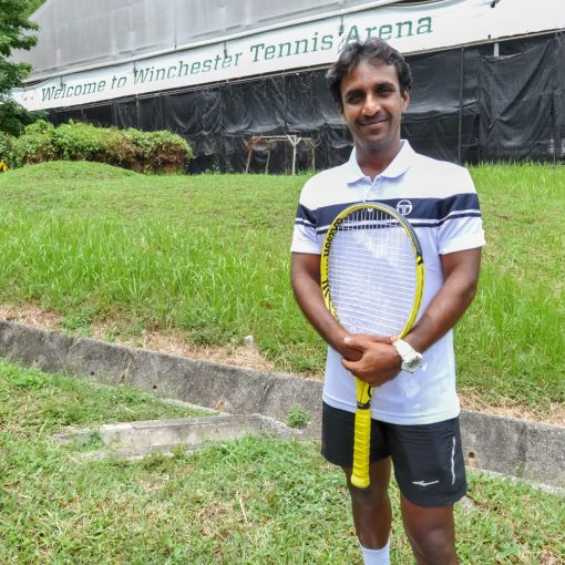 Coach Parekh Pratim, TAG International Tennis Academy, one of singapore best indian tennis coach