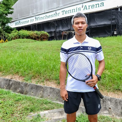 Coach Peter Ego Dumaog, TAG International Tennis Academy