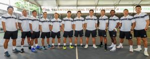 TAG International Tennis Academy Coaches Group Photo
