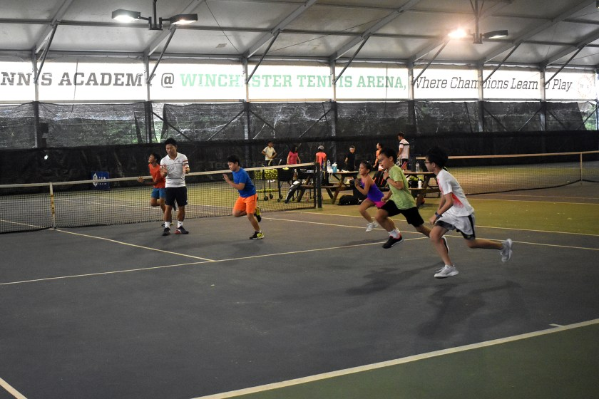 TAG_Junior Tennis Program at Winchester Tennis Arena