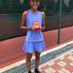 Coach Xt student - tennis junior winner Wee E-Wen