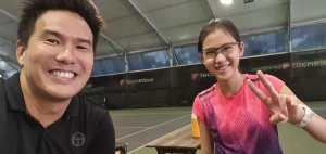 Dyanne Hsu - Tennis Junior of Coach Xt