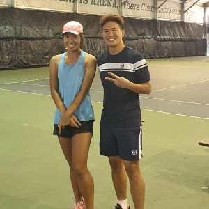 Lim Lerr Min Singapore Open Champion