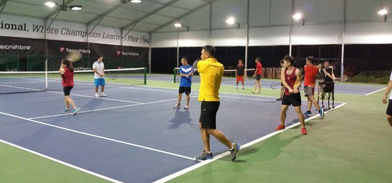 TAG Tennis Academy Corporate Tennis Lesson Clinics