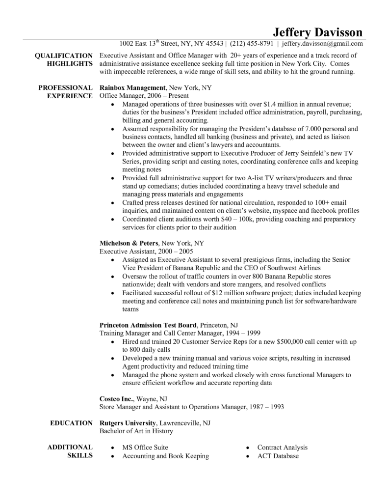 Resume Templates For Office Princeton Bill Template And Education Background In Resume Sample