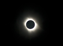 July 11, 2010 total eclipse shot from Hao