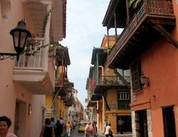 El Centro - the historic part of Cartagena in Colombia