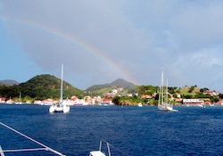 Iles des Saintes from the anchorage