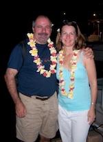 Patti and Gerard in Tahiti